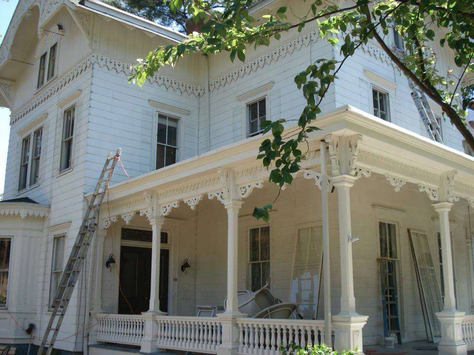 Victorian Home Restoration Before And After Gikas