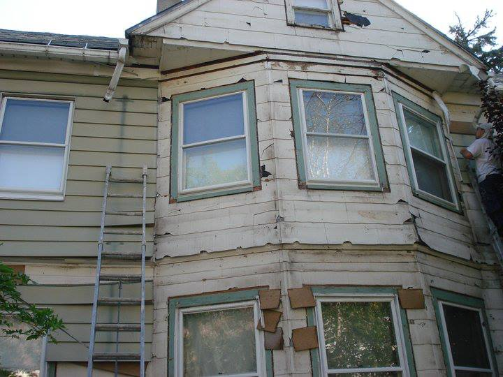 Siding Before And After Gikas Painting Professional Interior Exterior Painting Montclair N J