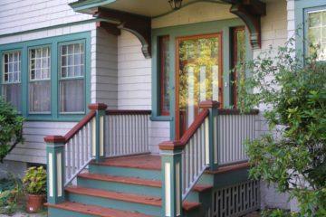 Gikas Painting-doors-stairs-restoration