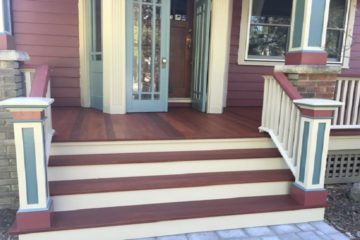 New Porch in Maplewood by Gikas Painting & Contracting