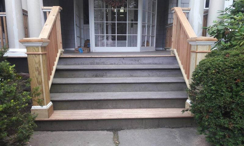 Carpentry - Wooden Railings