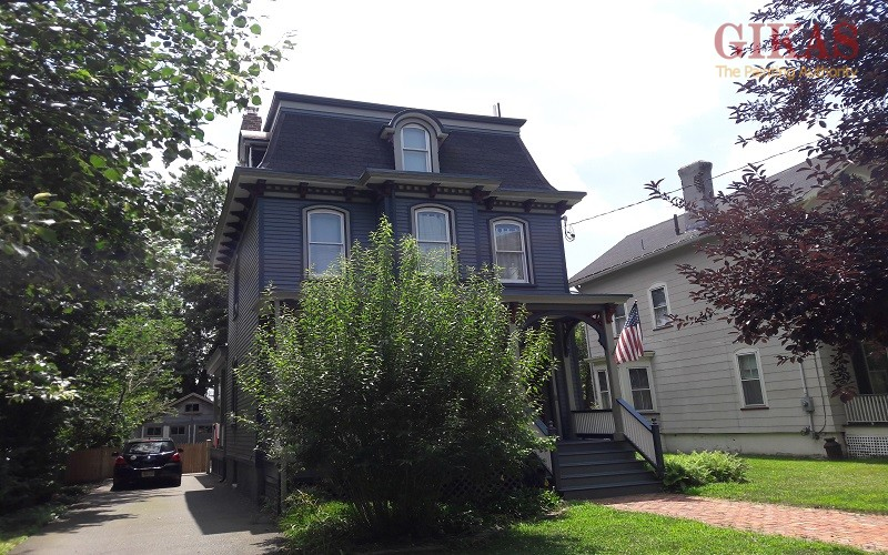 Exterior Painting on this Victorian Home in Bloomfield